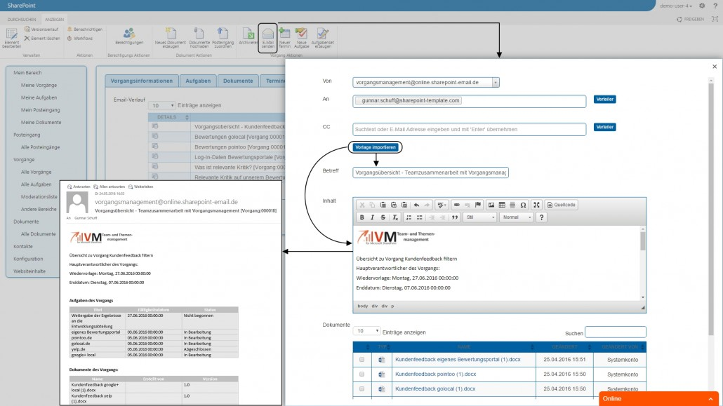 E-Mail-Kommunikation im Team und mit externen Partnern