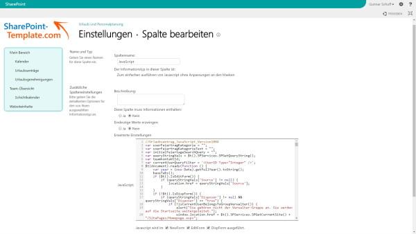 Screenshot koellisch toolkit 7.0 JavaScript