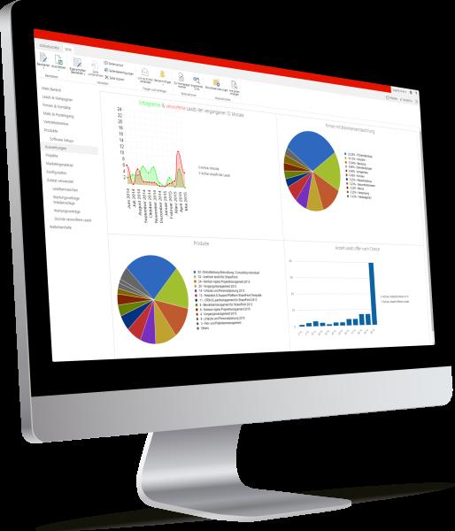 SharePoint Kontakt- und Leadmanagement (CRM)