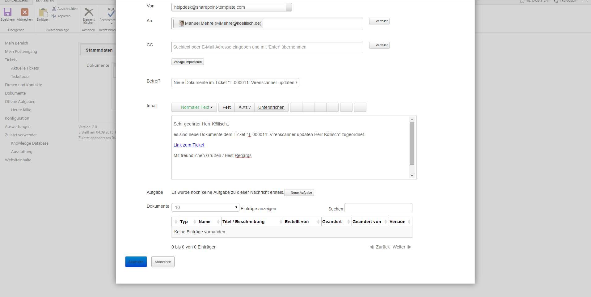 sharepoint helpdesk und ticketsystem f r ihr support team