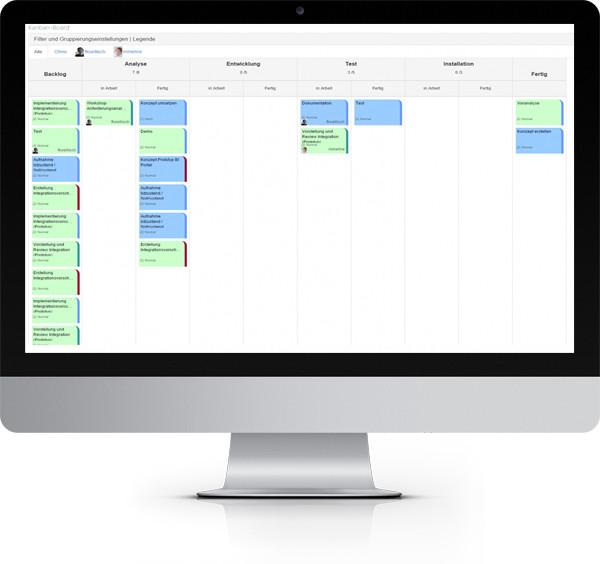 Kanban Projektmanagement mit SharePoint