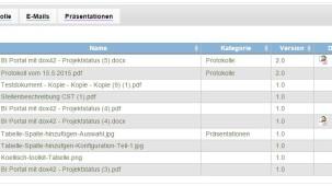 SharePoint Tabellenspalte