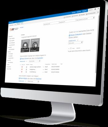 SharePoint Team- und Vorgangsmanagement